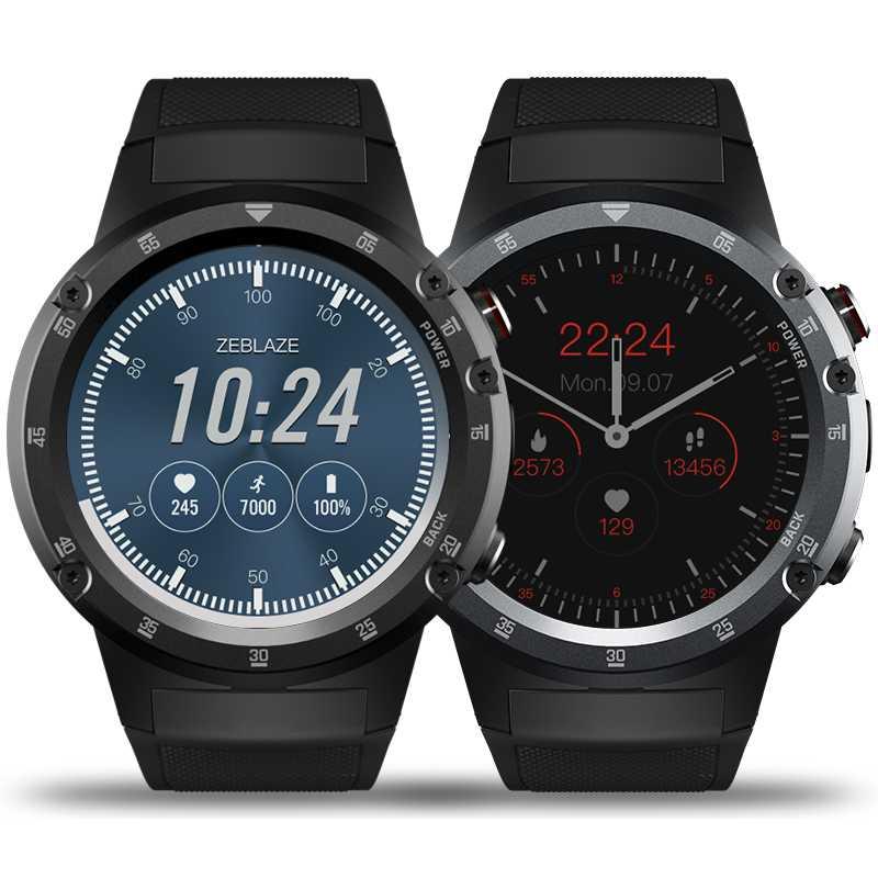 Zeblaze THOR 4 Plus insignia 4G LTE SmartWatch teléfono Android 7,1 MTK6739 QuadCore 1 GB + 16 GB 5.0MP 580 mAh GPS Smat reloj de las mujeres de los hombres