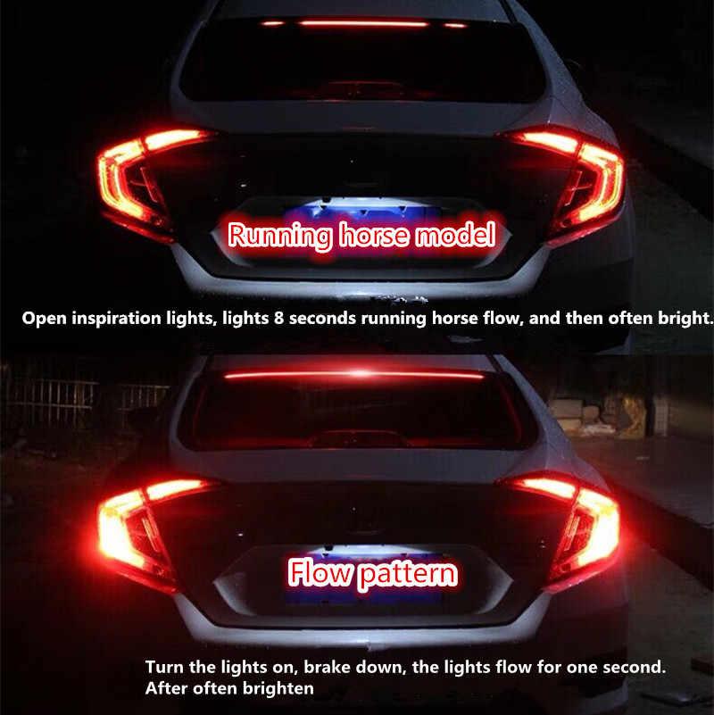 Car LED Strip Brake lights Rear Tail Warning Light High Mount Stop Lamp for  Volvo xc60 s60 s80 s40 v60 v40 xc90 v70 Accessories