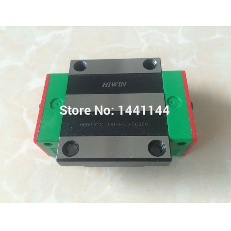 HGR15 HIWIN linear rail: 12pcs HGW15CA 100% New Original HIWIN brand linear guide block for HIWIN linear rail HGR15 CNC parts 1pcs hiwin rgw65 rgw65hc rg65 high rigidity roller type linear guide block original hiwin rolling linear guide cnc parts stock