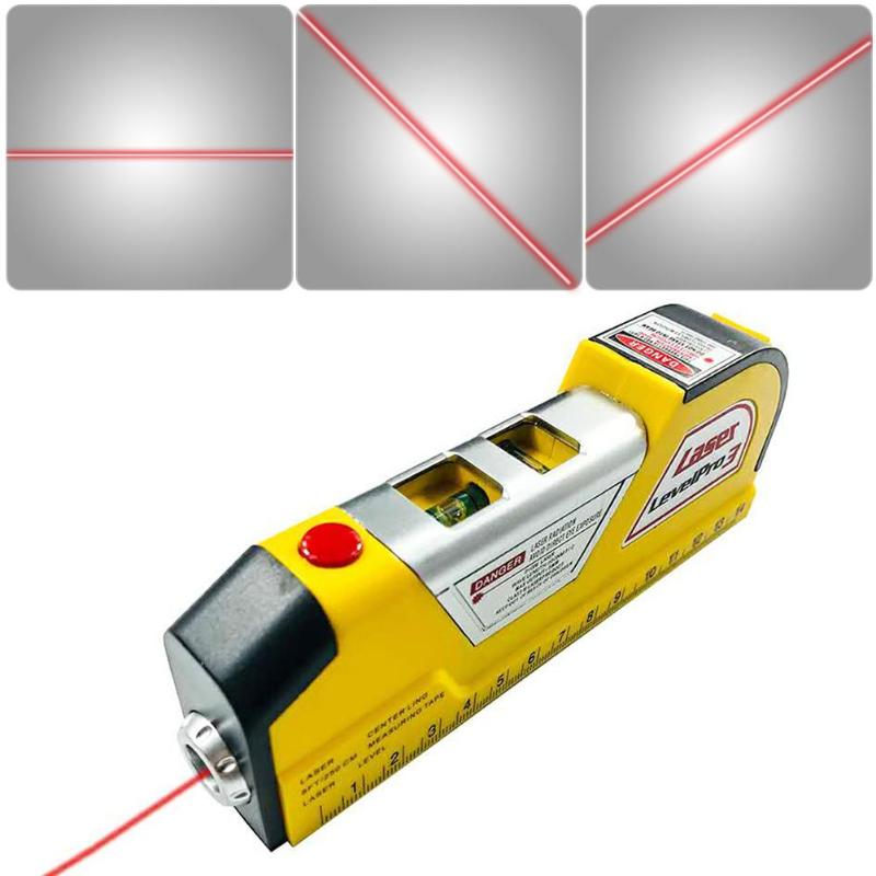 Laser Level Edge Guide Leveler Straight Project Line Measuring Portable Tool new