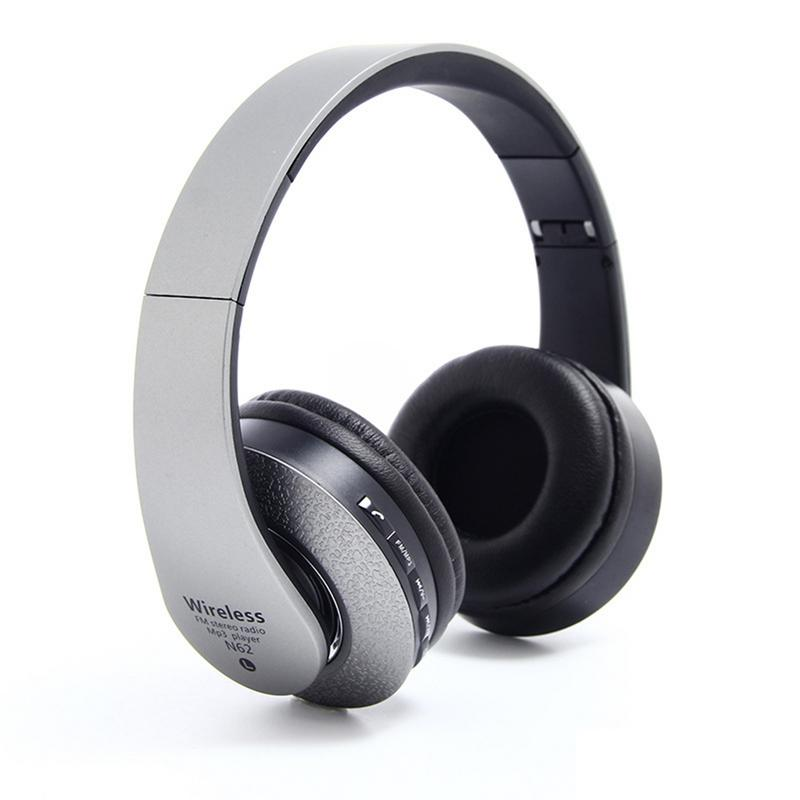 Image 4 - Bluetooth Headphones Over Ear Hi Fi Stereo Wireless Headset Foldable Soft Memory Protein Earmuffs Built in Mic Noise Cancelling-in Bluetooth Earphones & Headphones from Consumer Electronics