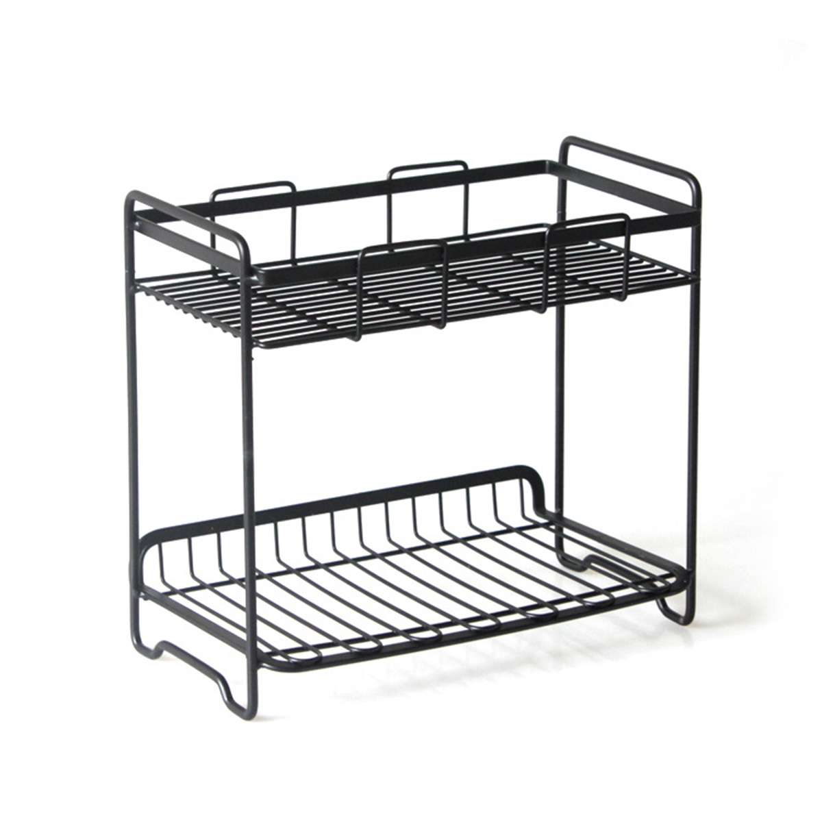 Storage Rack Metal Functional Multi-storey Wrought Iron Rack Wrought Iron Shelf Storage Shelf For Kitchen Bathroom Balcony Goods Of Every Description Are Available Bathroom Hardware