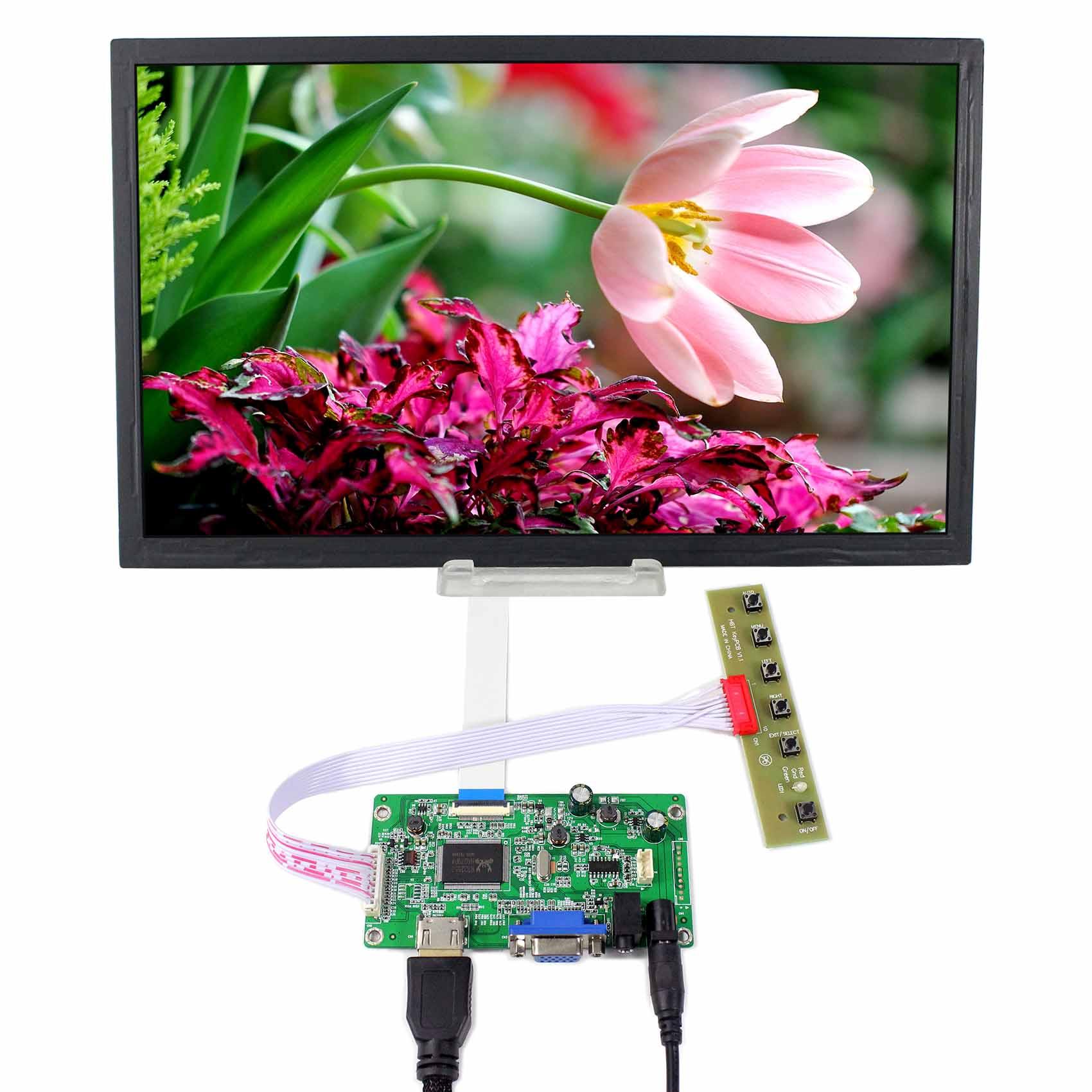 TV HDMI USB VGA RF LCD LED Controller Board kit for HD EDP Panel LP156WF6-SPB1