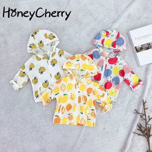 New Kids'outerwear In Spring And Summer Of 2019 Korean Fruit Printed Sunscreen C