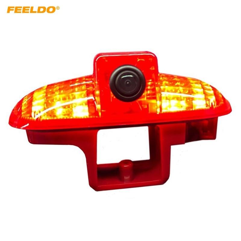 FEELDO Car Rear View Brake Light Camera For Renault Trafic /Vauxhall Vivaro Backup Camera #MX5793