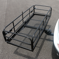 60 150 X 60 X 8.5CM Portable Large Capacity Folding Cargo Carrier Car SUV Rack Rear Max 226kg For Travel Luggage Crops Carrier