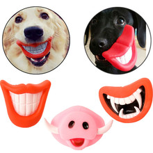 1 PC Dog Toys For Small Large Dogs Cats Pet Squeak Creative Vinyl Glue Nuk Puppy Chew Supplies