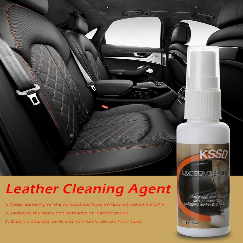 Steering Wheel Cleaner >> Us 3 24 29 Off 30ml Leather Clothes Shoe Sofa Car Seat Renovation Cleaning Polish Agent Leather Cleaning Safe And Non Toxic Easy To Operate In
