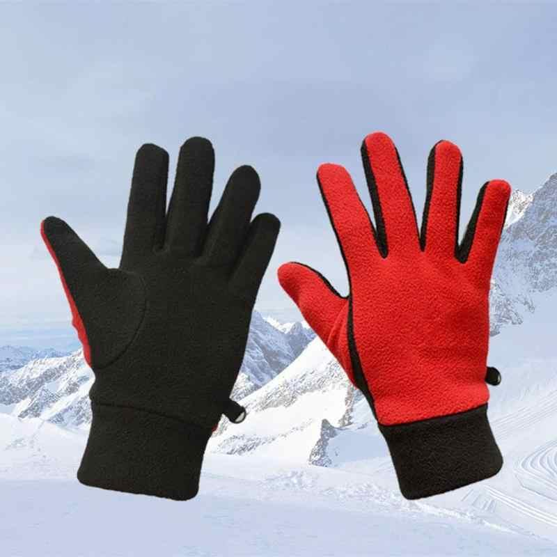 Kış bisiklet eldivenleri açık sıcak tutmak kayak spor sıcak eldiven düşük sıcaklık kayak bisiklet tırmanma eldiven erkekler kadınlar için yeni