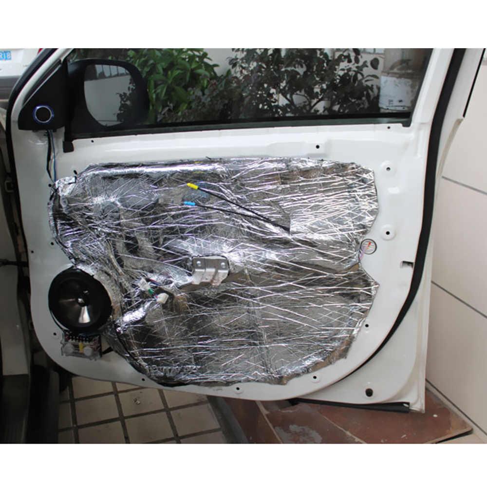 消音マット車ファイアウォールサウンド Deadener 熱シールド絶縁オーディオノイズ絶縁体消音パッド 7 ミリメートル 500 × 1000 ミリメートル
