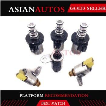 4F27E Transmission Shift Valve Solenoids Set Fit For Ford Focus Fiesta Mazda 2 3 5 6 CX7 PROTEGE Kit Genuine OEM