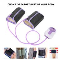 Air Compression Leg Massager Electric Blood Circulator Waist Wrap Massage Machine For Body Arm Hip Calf Therapy Pain Relief