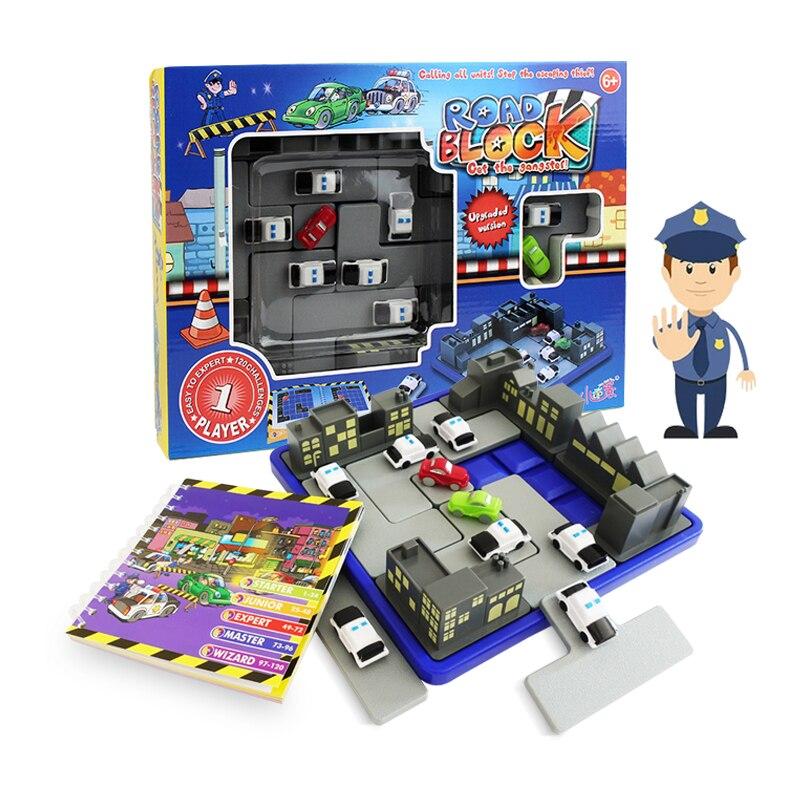 IQ Puzzle enfants jouets famille logique jeux de société 120 défi avec Solution Intelligent logique jeu de pensée Jouet Enfant Intelligent