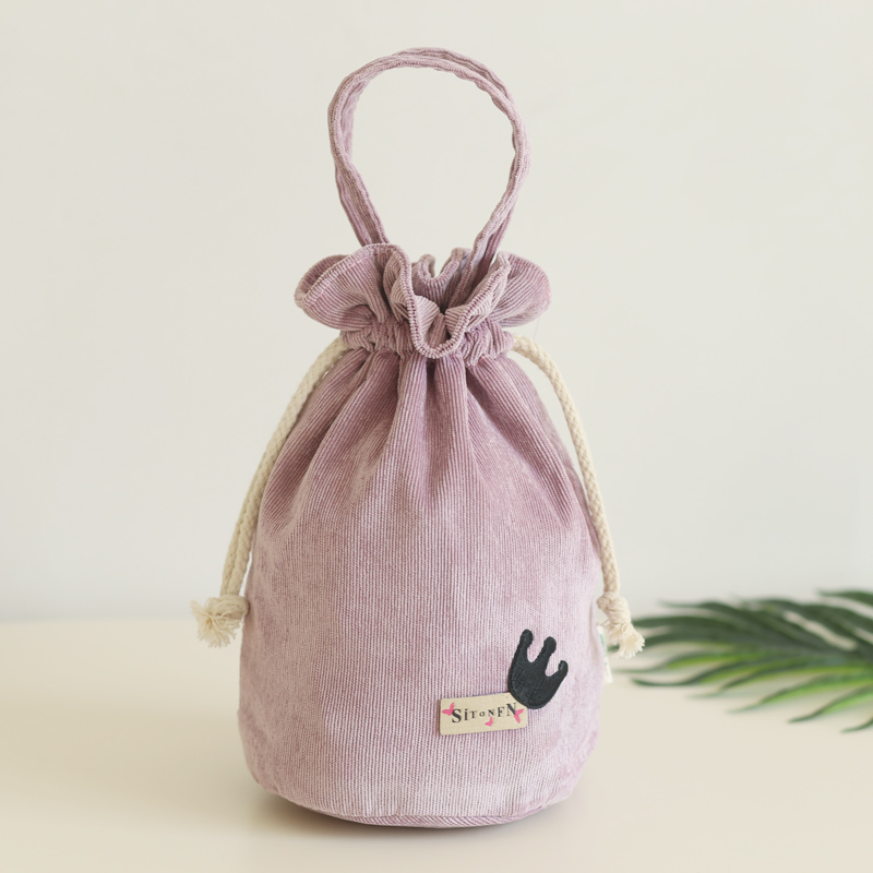 Hundred Take The Hand Carrying Beam Maam Take Bring Mobile Phone Package Flannel Bucket Small Cloth Package Zero PurseHundred Take The Hand Carrying Beam Maam Take Bring Mobile Phone Package Flannel Bucket Small Cloth Package Zero Purse
