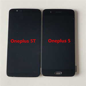 Image 4 - Original Supor Amoled M&Sen For Oneplus 5T A5010  LCD Screen Display+Touch Digitizer With Frame For Oneplus 5 A5000 Display
