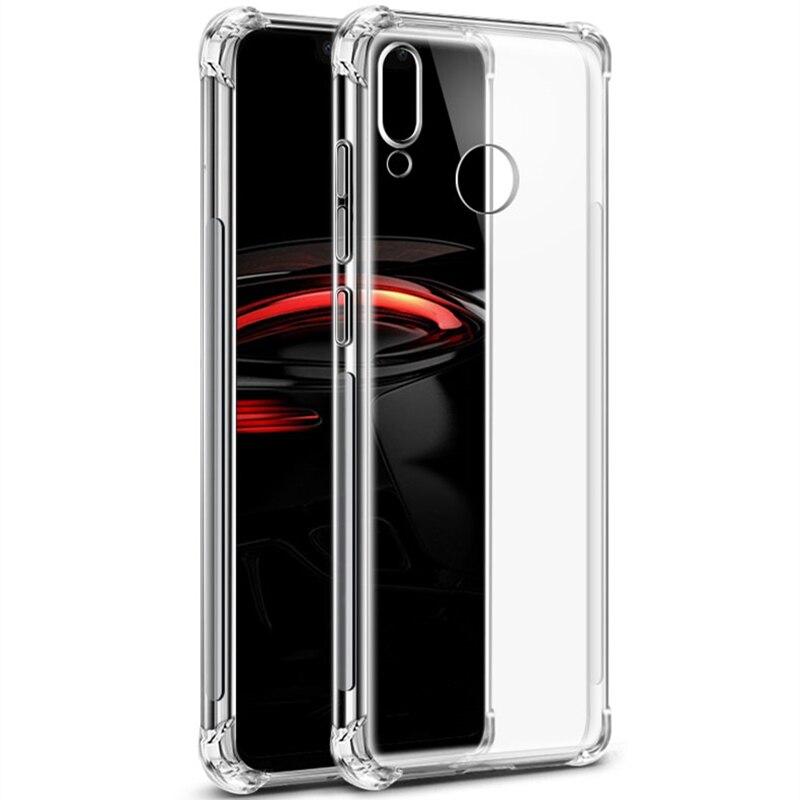Case For Huawei P30 Pro P20 Lite Mate RS 20X Y5 Y6 2018 For Honor 10Lite 2019 8C 8X Nova 4 Airbag Shockproof Back Case Cover