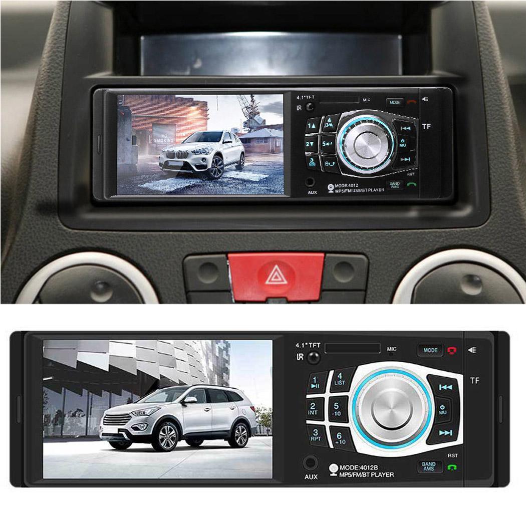 4.1 ''Bluetooth voiture MP5 lecteur 2 Din Auto FM Radio écran tactile TF USB mains libres voiture stéréo vidéo Audio multimédia lecteur 4012B