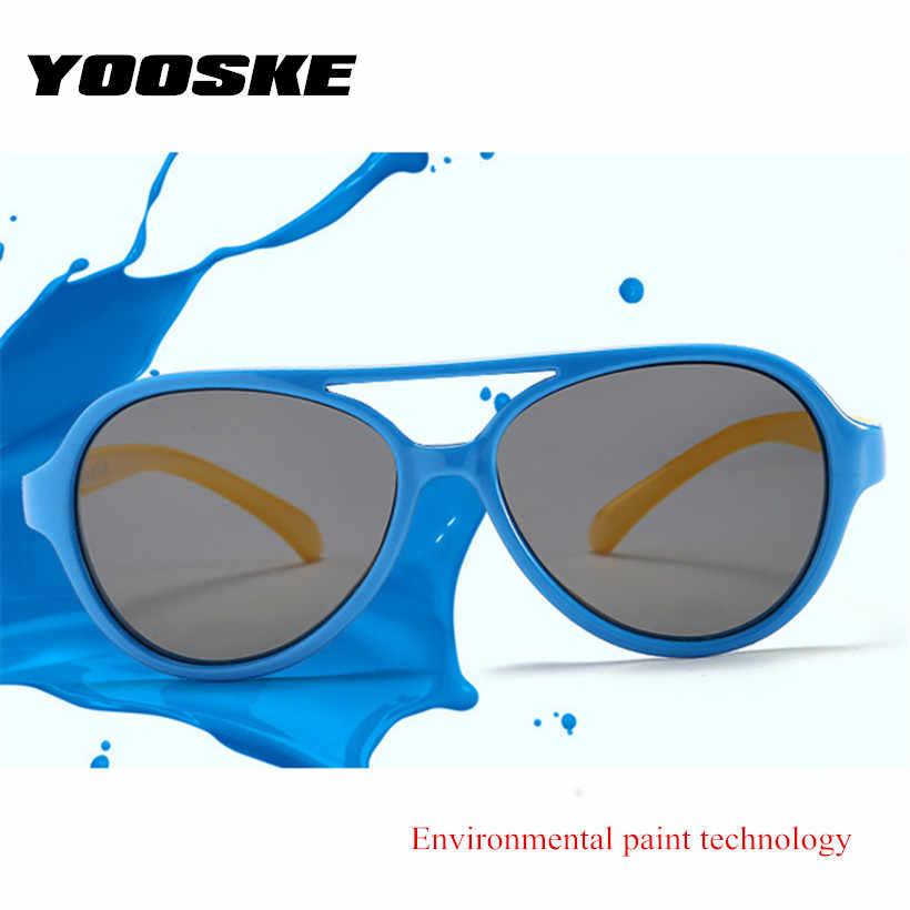 YOOSKE spolaryzowane okulary przeciwsłoneczne dla dzieci