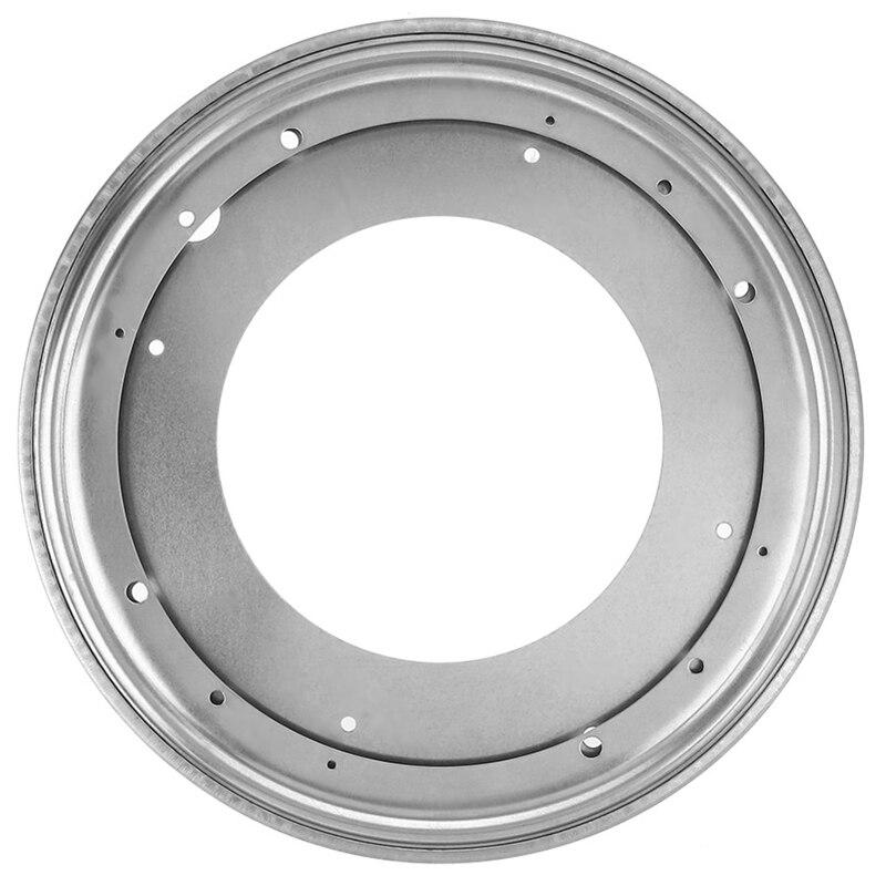 12 Zoll Runde Form Verzinktem Plattenspieler Rotierenden Schwenk Platte Küche & Display Tisch Hardware Rheuma Und ErkäLtung Lindern