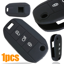 3 Button Remote Fob Protector Silicone Key Case Cover For Peugeot 508 408 308 208 2008 3008 4008 RCZ 3 button remote fob protector silicone key case cover for peugeot 508 408 308 208 2008 3008 4008 rcz