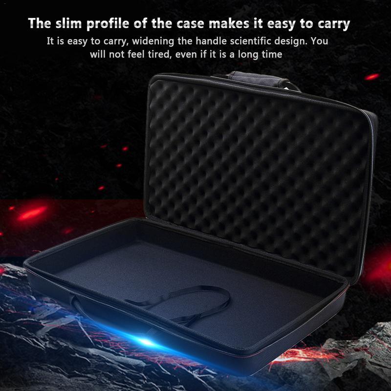 Storage Shockproof Bag for Traktor Kontrol S2 Mk3 DJ Controller Carrying Portable Case