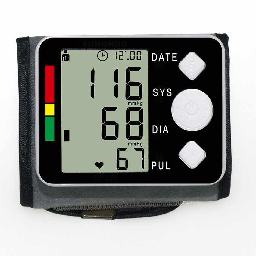 Tonometerบนข้อมือความดันโลหิตมิเตอร์ตรวจสอบดิจิตอลTonometerและชีพจรเมตรการดูแลสุขภาพS Phygmomanometerวินิจฉัยเครื่องมือ