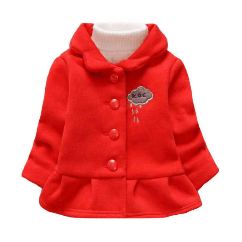 Куртка для девочек; сезон осень-зима; модная теплая двубортная куртка с длинными рукавами и бантом для маленьких мальчиков; пальто для маленьких мальчиков