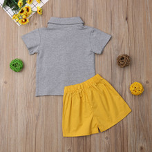 Baby Girl Boy Short Sleeve Clothes T-Shirt Outfits
