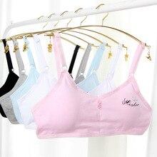 Girl wrapped chest student cotton development period adjustable shoulder strap vest breathable underwear