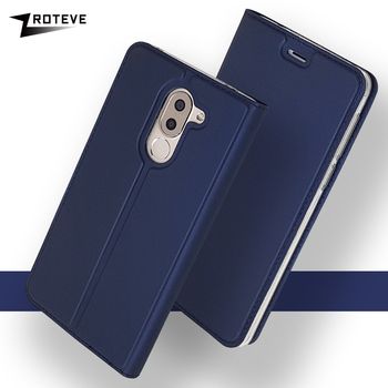 Honor 6X Case ZROTEVE Wallet Leather Cases For Huawei Honor 6X Coque Flip Leather Cover For Huawei GR5 2017 Mate 9 Lite Cases