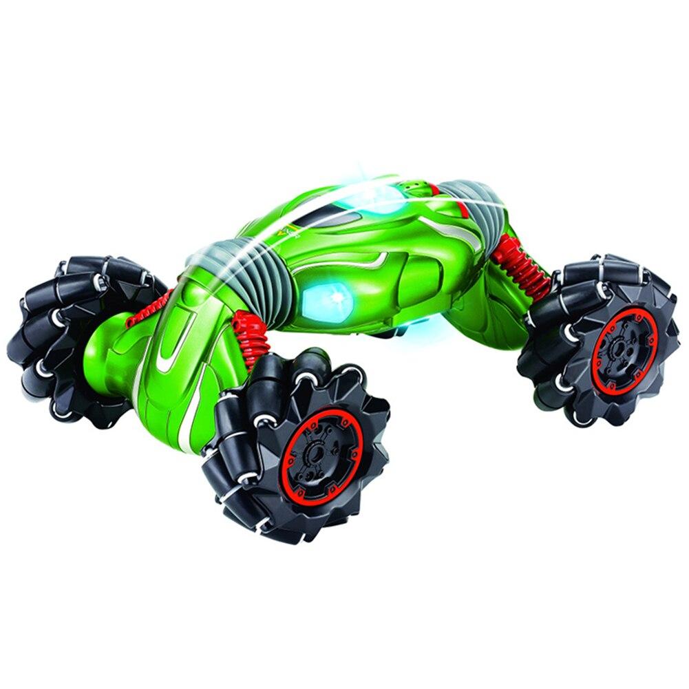 Ruimdenkende Afstandsbediening Twisted Auto 99002 Vierwielaandrijving Klimmen Stunt Auto Lichte Muziek Elektrische Dubbelzijdig Speciale Effecten Speelgoed