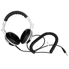 Professional DJ Headphone Stereo Studio Monitor Headset Portable Headphones with 3.5mm 6.3mm Jack 2.5m Cord(China)