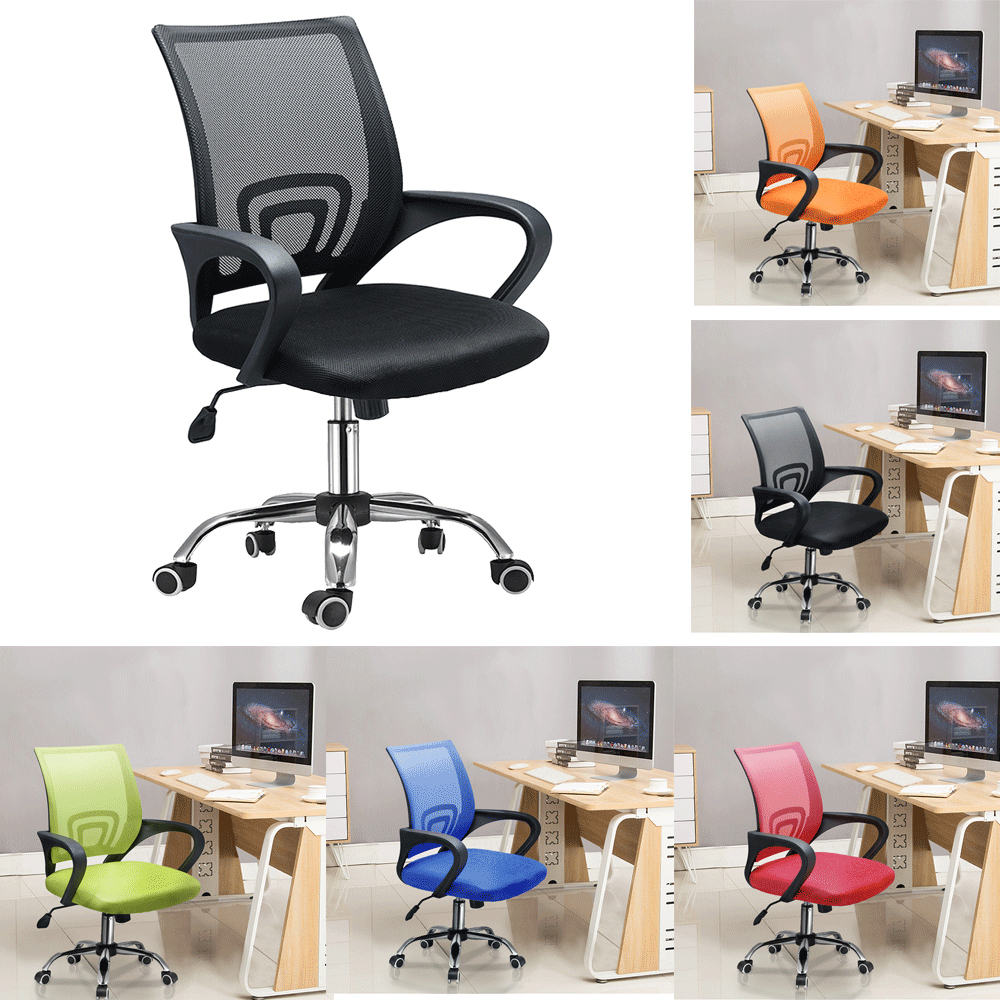 Office Computer Mesh Chair Simple Revolving Swivel Chair Dorm Staff Seating Office Chair Fast Delivery