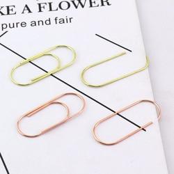 20/15 pcs 50x20mm große größe papier clips dekorative 7 farben erhältlich große breite papier clips Kawaii foto clip büro clips