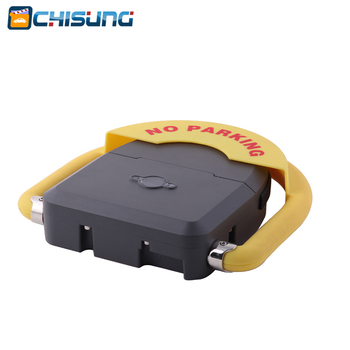 Outdoor used waterproof remote control battery powered automatic parking barrier parking lock parking space saver with IP68