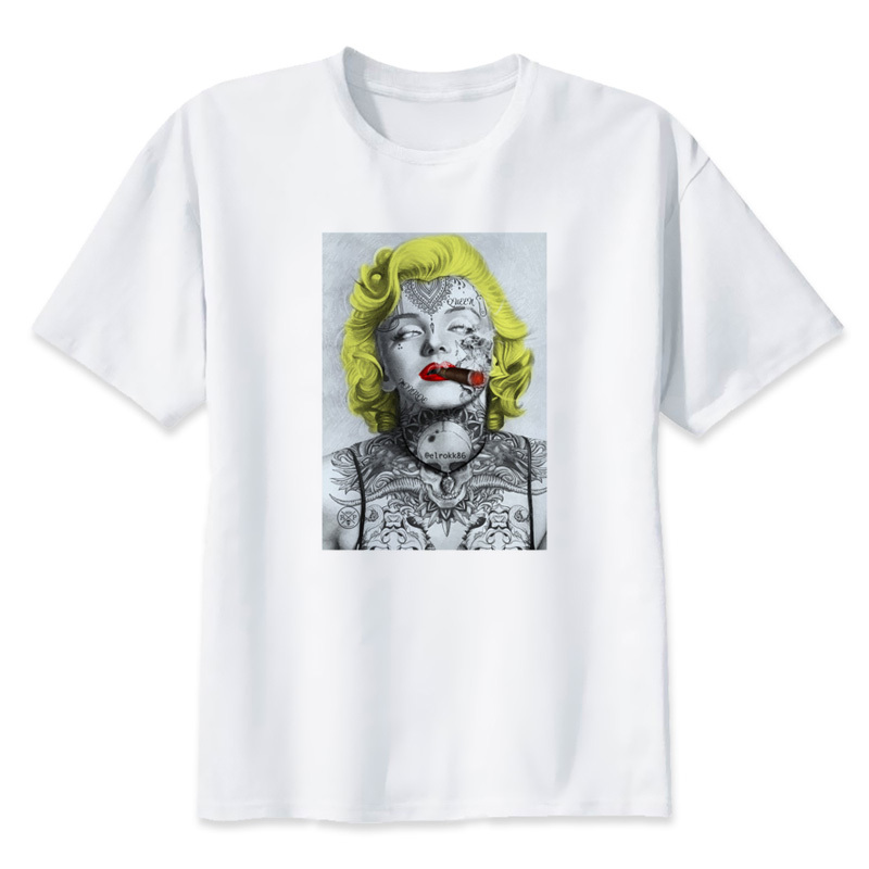 Marilyn Monroe T Shirt Men Women T Shirt Modal Tshirt