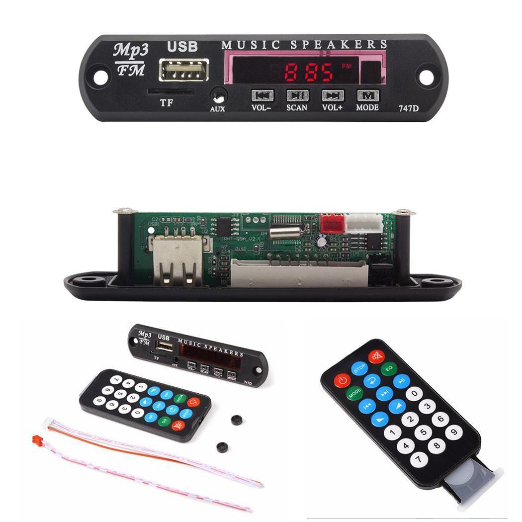 2019 TF Radio MP3 Decoder Board Audio Module for Car Remote Music Speaker Radio Kit DC 5V decodificador mp3