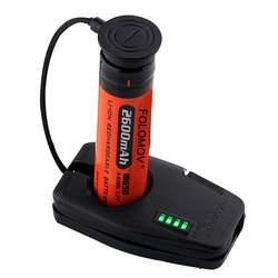Folomov DC 5 В Портативный ключ Размеры Магнитная USB Батарея Зарядное устройство для путешествий легкий 2000mA EDC магнитного USB Зарядное устройство