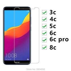 10 sztuk szkło hartowane dla Huawei Honor 3c 4c 5c 6c Pro 8c szkło ochronne ochraniacz ekranu na 6cpro 3 4 5 6 8 C C8 C6 C5 Saver