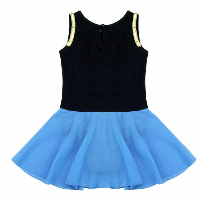TiaoBug Çocuk Kız Prenses Bale Tutu Elbise Nakış Bale Leotard Jimnastik Leotard Çocuk Fantezi Parti Sahne dans kostümü