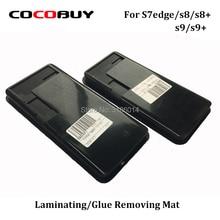 Бесплатная доставка силиконовая резиновая прокладка/коврик для Galaxy S7edge S8 S8plus s9 s9plus удаление клея и ламинирование OCA (без Touch Flex)