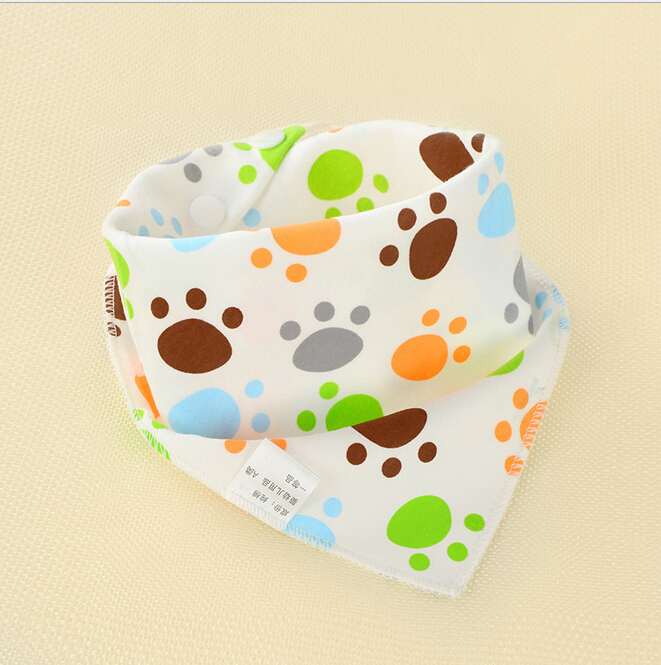 Infant Kids Baby Unisex Feeding Saliva Towel Dribble Triangle Bandana Bibs