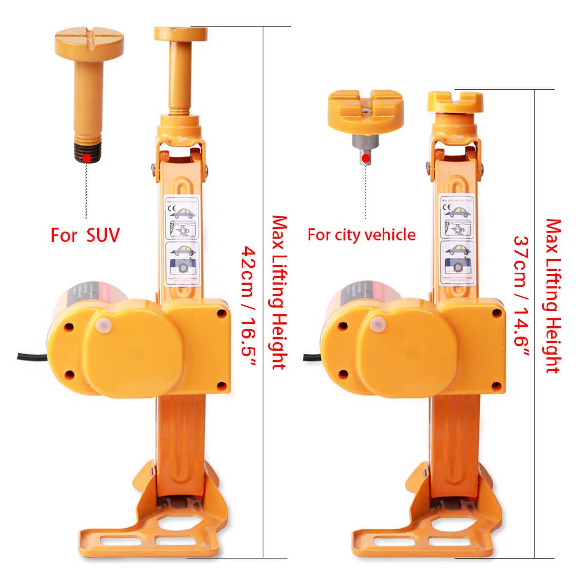 12 V 3Ton samochód elektryczny gniazda opony płyn do wymiany Podnośnik hydrauliczny wpływ klucz LED światła Auto podnoszenia zestaw narzędzi do naprawy