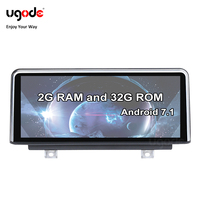 Ugode Android Multimedia Car Entertainment System GPS Navigation Player for BMW X1 F48 NBT OS 7.1 System 32G ROM Freeship