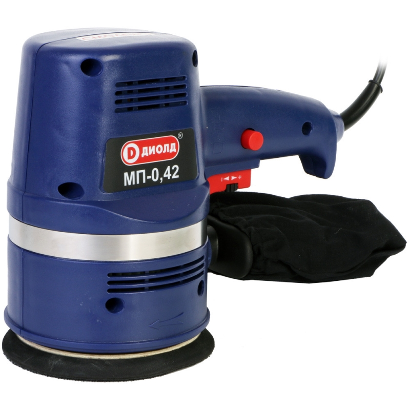Orbital grinder machine Diold MP-0,42 orbital grinding machine diold mp 0 5