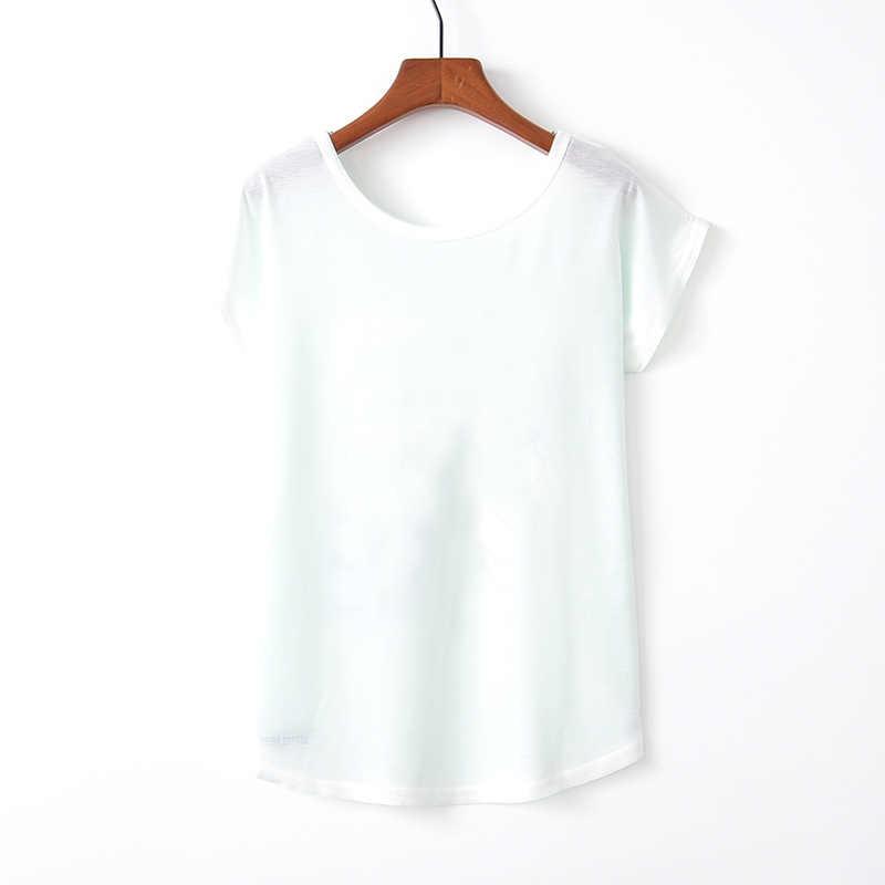 Kaitingu Musim Semi Musim Panas Wanita T Shirt Baru Harajuku Kawaii Gaya Lucu Kaktus Cetak T-shirt Pendek Lengan Tops Ukuran M L XL