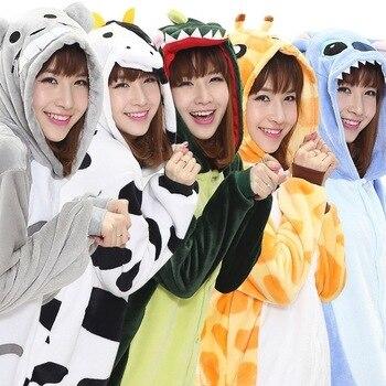 c1802cd8fe817 Пижама женская ночная рубашка пижама теплая Пижама кенгуруми Пижама  Единорог Пижама Рождественская цельная Пижама