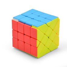 Lefun 4*4*4 Fisher Magic Neo Cube Stickerless 4x4 Cubo Magico Learning Educational Toys For Children