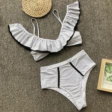 2019  Women Push-up Padded Bra Bandage Bikini Sets Swimsuit Swimwear Bathing