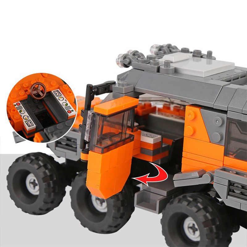 500 + pcs Conjunto de Blocos de Construção do Modelo de Série Do Carro Veículo Todo O Terreno de Tijolos Brinquedos Para As Crianças Presentes Educacionais Compatíveis Legoing